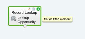 Salesforce Flow Start Element