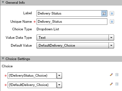 Salesforce Flow Screen Picklist Field