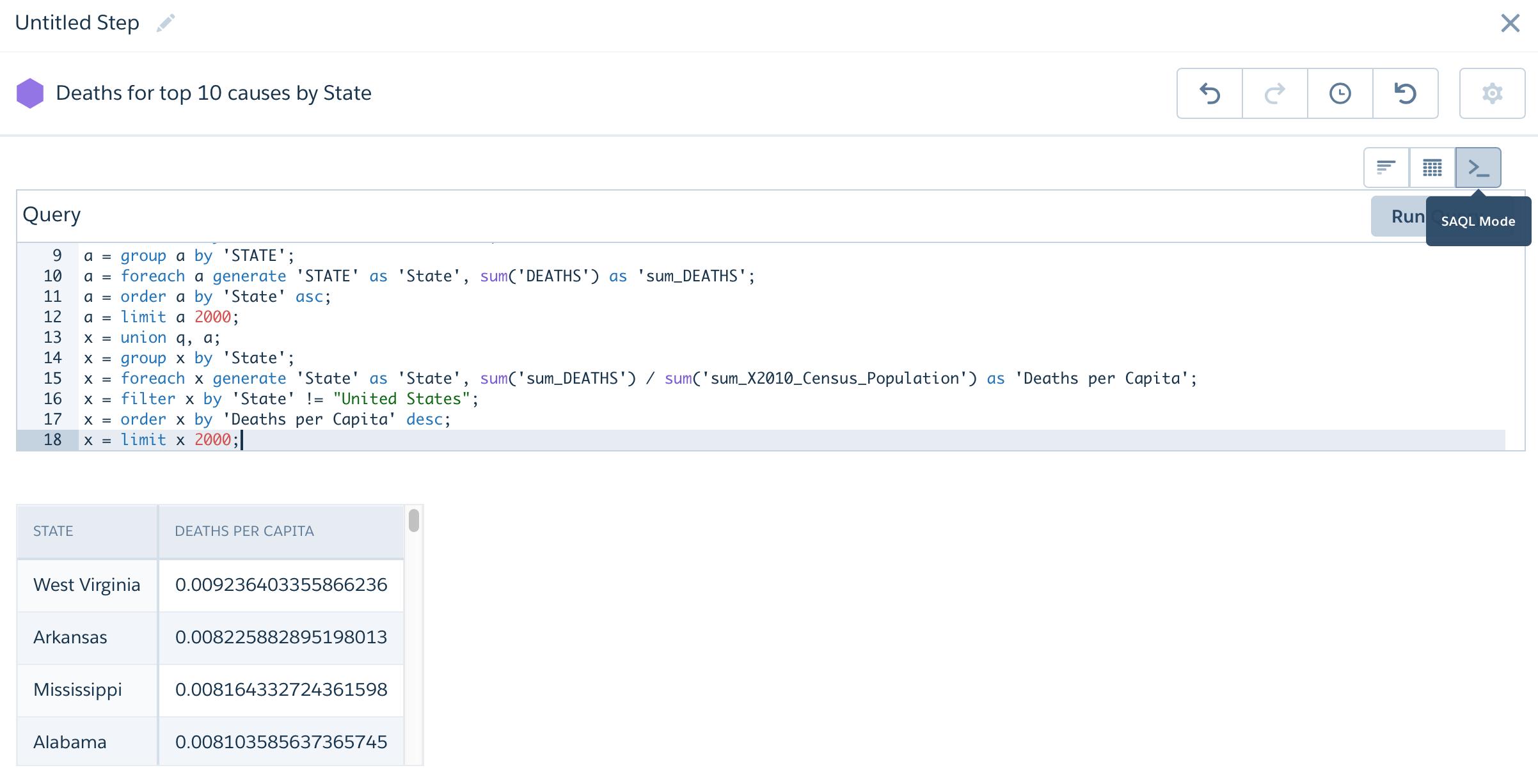 Salesforce Analytics SAQL Join Multiple Datasets - SFDCr